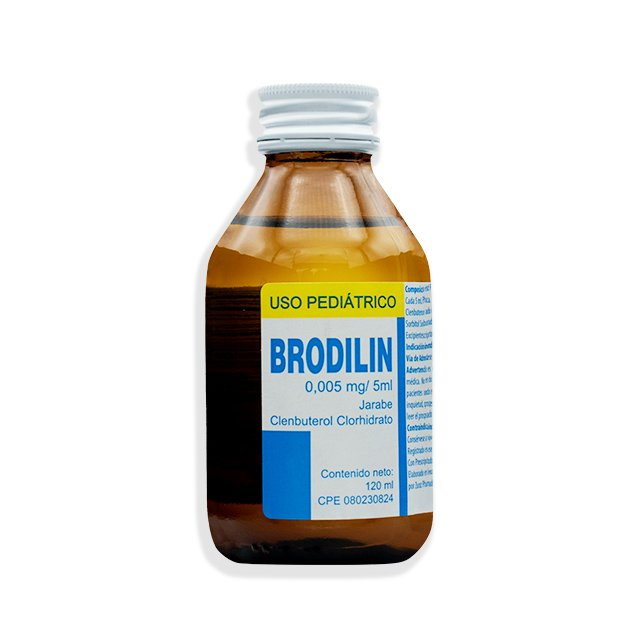 BRODILIN 0,005mg/5mL JARABE